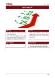 Giáo trình nguyên lý thống kê - Bài 6