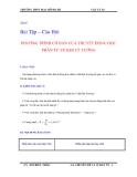 Phương trình cơ bản của thuyết động học phân tử về khí lý tưởng - Lý 10