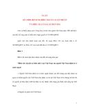 LUẬT SỬA ĐỔI, BỔ SUNG ĐIỀU 126 CỦA LUẬT NHÀ Ở VÀ ĐIỀU 121 CỦA LUẬT ĐẤT ĐAI