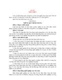 LUẬT VIÊN CHỨC (Quốc hội ban hành)