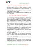 BÀI 8: CÁC XUNG NHỊP TRONG GIAO TIẾP HỆ THỐNG