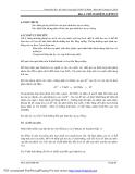 Bài giảng thực hành xử lý nước thải ( Th.s. Lâm Vĩnh Sơn ) - Bài 4