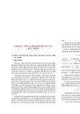 ứng. Chúng ta muốn mô tả biến động của một biến phụ thuộc như một hàm