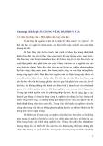 Chương 1. KHÁI QUÁT CHUNG VỀ DỰ BÁO THUỶ VĂN. 1.1. Dự báo thủy văn - Một phần