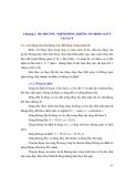 Chương 2. HỆ PHƯƠNG TRÌNH DÒNG KHÔNG ỔN ĐỊNH SAINT VENANT 2.1. Các dạng chuyển