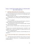 Chương 3. DỰ BÁO CHUYỂN ĐỘNG SÓNG LŨ VÀ PHƯƠNG PHÁP MỰC NƯỚC TƯƠNG ỨNG 3.1