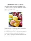 5 thực phẩm dưỡng ẩm, bảo vệ da ngày đông