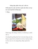 """Những thực phẩm """"hút sạch"""" chất béo"""