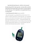 Người bệnh đái tháo đường nên có thiết bị y tế gì trong nhà?