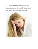 Trầm cảm làm tăng nguy cơ đột quỵ