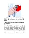Cách đặc biệt chăm sóc trái tim bị bệnh