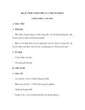 Bài 10. TÍNH TƯƠNG ĐỐI CỦA CHUYỂN ĐỘNG CÔNG THỨC VẬN TỐC