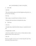 Bài 18. CHUYỂN ĐỘNG CỦA MỘT VẬT BỊ NÉM