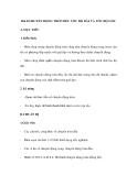 GIÁO ÁN MÔN LÝ: Bài 8. CHUYỂN ĐỘNG TRÒN ĐỀU TỐC ĐỘ DÀI VÀ TỐC ĐỘ GÓC