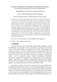 "Báo cáo nghiên cứu khoa học "" FLOOD VULNERABILITY ASSESSMENT OF DOWNSTREAM AREA IN THACH HAN RIVER BASIN, QUANG TRI PROVINCE """