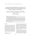 """Báo cáo nghiên cứu khoa học """" Ứng dụng mô hình Length-Based Cohort Analysis (LCA) trong nghiên cứu nguồn lợi cá nổi lớn đại dương và quản lý nghề cá ở vùng biển xa bờ miền Trung """""""