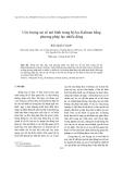 """Báo cáo nghiên cứu khoa học """" Ước lượng sai số mô hình trong bộ lọc Kalman bằng phương pháp lực nhiễu động """""""