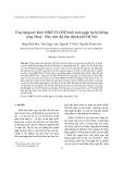 """Báo cáo nghiên cứu khoa học """"  Ứng dụng mô hình MIKE FLOOD tính toán ngập lụt hệ thống sông Nhuệ - Đáy trên địa bàn thành phố Hà Nội """""""