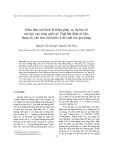 """Báo cáo nghiên cứu khoa học """" Khai thác mô hình WetSpa phục vụ dự báo lũ các lưu vực sông quốc tế: Tính bất định số liệu, tham số, cấu trúc mô hình và đề xuất các giải pháp """""""