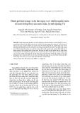 """Báo cáo nghiên cứu khoa học """"  Đánh giá hiện trạng và dự báo nguy cơ ô nhiễm nguồn nước do nuôi trồng thuỷ sản nước mặn, lợ tỉnh Quảng Trị """""""