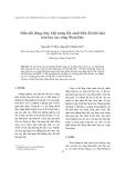 """Báo cáo nghiên cứu khoa học """" Biến đổi dòng chảy kiệt trong bối cảnh biến đổi khí hậu trên lưu vực sông Nhuệ Đáy """""""