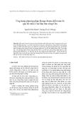 """Báo cáo nghiên cứu khoa học """"  Ứng dụng phương pháp Runge-Kutta diễn toán lũ qua hồ chứa Cửa Đạt trên sông Chu """""""