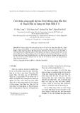 """Báo cáo nghiên cứu khoa học """" Giới thiệu công nghệ dự báo lũ hệ thống sông Bến Hải và Thạch Hãn sử dụng mô hình MIKE 11 """""""