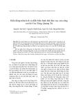 """Báo cáo nghiên cứu khoa học """" Biến động trầm tích và diễn biến hình thái khu vực cửa sông ven bờ Cửa Tùng, Quảng Trị """""""