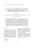 """Báo cáo nghiên cứu khoa học """" Đánh giá quy luật biến động dài hạn và xu thế biến đổi số lượng bão và áp thấp nhiệt đới trên khu vực Tây Thái Bình Dương, Biển Đông và ven biển Việt Nam """""""