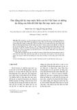 """Báo cáo nghiên cứu khoa học """"  Dao động dài kỳ mực nước biển ven bờ Việt Nam và những tác động của biến đổi khí hậu lên mực nước cực trị """""""