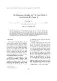 """Báo cáo nghiên cứu khoa học """" Hệ thống cảng biển phía bắc Việt Nam (Nhóm I) và một số vấn đề về quản lý """""""