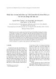 """Báo cáo nghiên cứu khoa học """" Hoàn lưu và mưa trên khu vực Việt Nam thời kỳ front Mei-yu: Vai trò của dòng xiết trên cao """""""