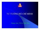 Bài giảng tư tưởng Hồ Chí Minh - Chương 3