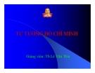 Bài giảng tư tưởng Hồ Chí Minh - Chương 6