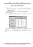 Hướng dẫn sử dụng NovaTDN 2005 - Chương 3