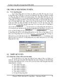 Hướng dẫn sử dụng NovaTDN 2005 - Chương 4