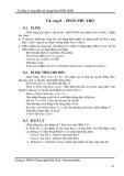 Hướng dẫn sử dụng NovaTDN 2005 - Chương 8