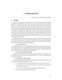 Kỹ thuật biển ( dịch bởi Đinh Văn Ưu ) - Tập 2 Những vấn đề cảng và bờ biển - Phần 2
