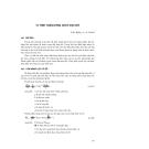 Kỹ thuật biển ( dịch bởi Đinh Văn Ưu ) - Tập 2 Những vấn đề cảng và bờ biển - Phần 5