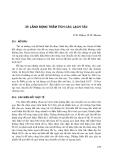 Kỹ thuật biển ( dịch bởi Đinh Văn Ưu ) - Tập 2 Những vấn đề cảng và bờ biển - Phần 9