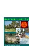 Năng lượng tái tạo (Phần 2) - Chương 1: Tìm năng NLTT tại Việt Nam
