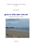 Quản lý tổng hợp vùng bờ ( Nguyến Bá Quý ) - Chương 1
