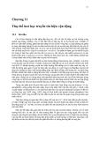 Sinh học phân tử màng tế bào ( Tập 2 GS. TS. Đỗ Ngọc Liên ) - Chương 11