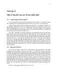 Sinh học phân tử màng tế bào ( Tập 2 GS. TS. Đỗ Ngọc Liên ) - Chương 13