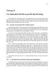 Sinh học phân tử màng tế bào ( Tập 2 GS. TS. Đỗ Ngọc Liên ) - Chương 14
