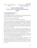 BÁO CÁO THƯỜNG NIÊN - CÔNG TY CỔ PHẦN ĐƯỜNG BIÊN HÒA (BHS) NĂM 2007