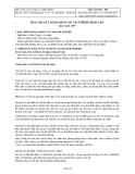 Công ty cổ phần Bibica - Bản thuyết minh báo cáo tài chính quý 1 năm 2008