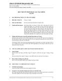 CÔNG TY CỔ PHẦN BÊ TÔNG 620 CHÂU THỚI - BẢN THUYẾT MINH BÁO CÁO TÀI CHÍNH - 2008