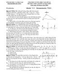 ĐỀ THI TUYỂN SINH VÀO LỚP 10 MÔN VẬT LÝ - ĐỀ SỐ 6 - TRƯỜNG CHUYÊN LÊ QUÝ ĐÔN THÀNH PHỐ ĐÀ NẴNG