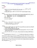 Gợi ý cách giải đề thi vào lớp 10 chuyên toán đại học sư phạm